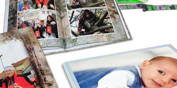 Fotosešit nebo fotokniha s potiskem desek – formáty A3 nebo A4
