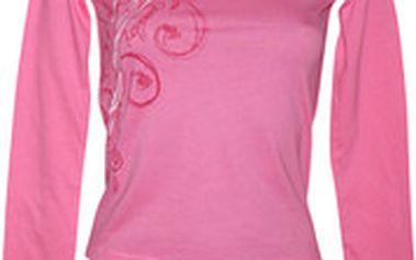 Růžové tričko Represent Picasso Flowers Represent