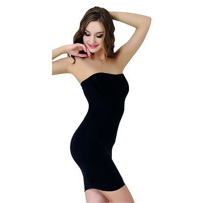Tvarující černé prádlo pod šaty