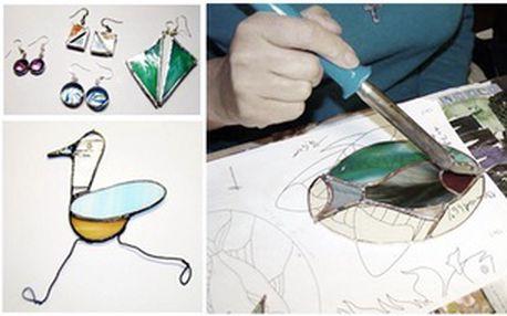 Dopolední kurz Tiffany - skleněné vitráže