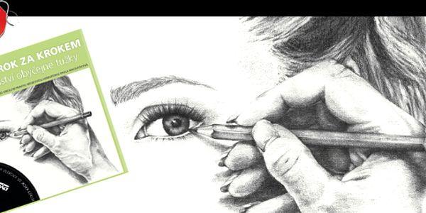 KNIHA: Portrét krok za krokem aneb tajemství obyčejné tužky za 329 Kč. Podrobný, srozumitelný průvodce pro všechny, kdo se chtějí naučit kreslit + názorné DVD s ukázkou vedení kurzu kreslení pravou hemisférou. Knihu i DVD lze použít samostatně.