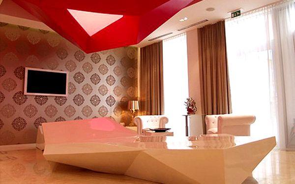 Pobyt v Bratislavě pro DVA v luxusním designovém hotelu s wellness