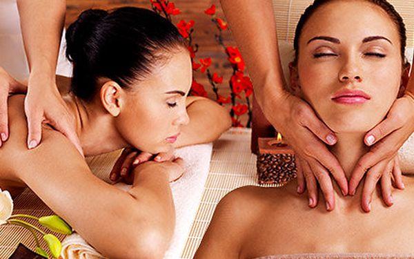 60minutová masáž celého těla. Výběr z 5 druhů