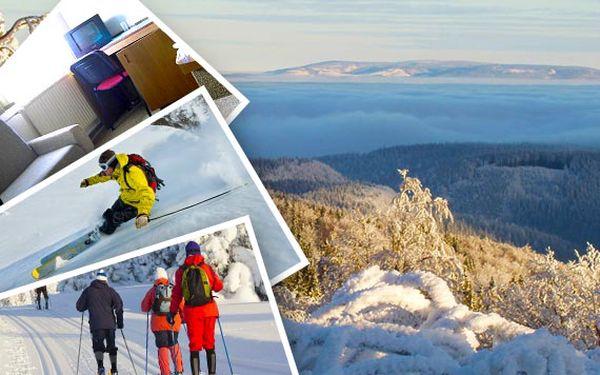 Orlické hory – zimní dovolená pro dva s polopenzí