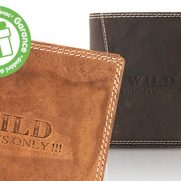 Pánské kožené peněženky Wild things only!!!