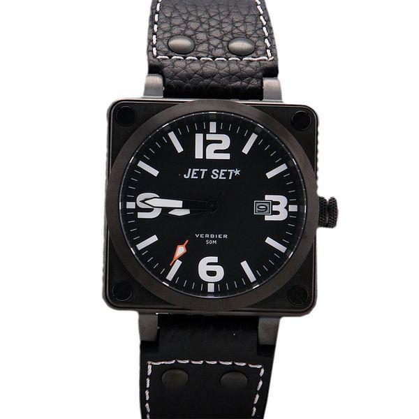 Pánské hodinky Jet Set černé