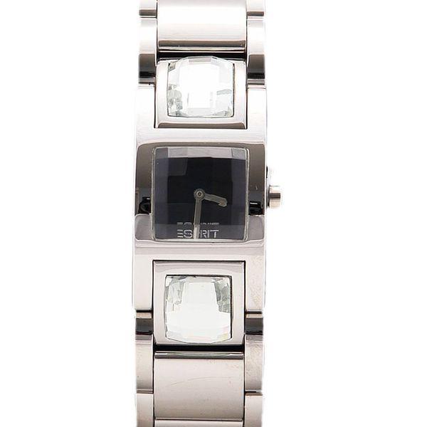 Dámské hodinky Esprit stříbrné zirkony
