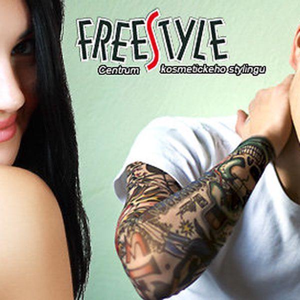 Profesionální tetování ze salonu FreeStyle Tattoo