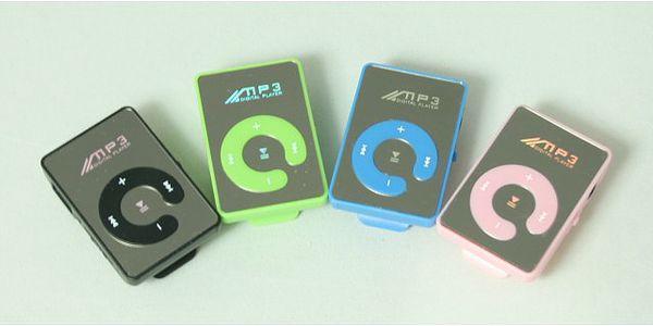 MP3 přehrávač MINI v pastelových barvách!