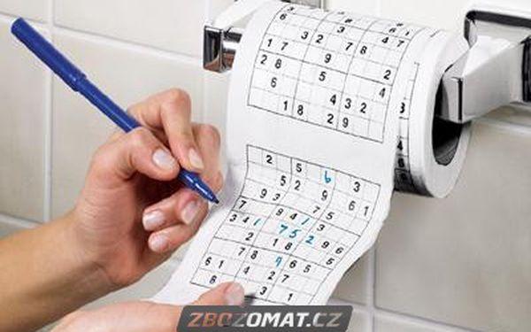 Sudoku na toaletu - potrénujte logiku i na