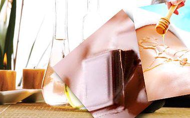Až 54% sleva na masáž! Medová, čokoládová, aroma, lávové kameny!
