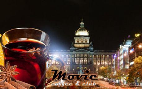 2x SVAŘÁK v centru Prahy jen za 39 Kč přímo u VÁCLAVSKÉHO NÁMĚSTÍ! Zpříjemněte si procházku Prahou a přijďte se zahřát na svařáček do kavárny MOVIE COFFEE & CLUB v originálním retro stylu! Vánoční sleva 57%!