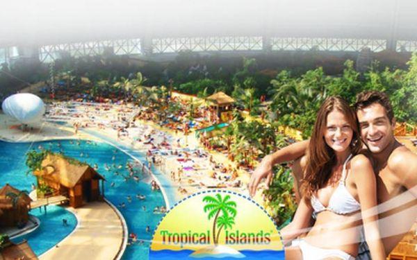 Nejlevněji do tropical islands! Jen 579 kč za jednodenní výlet do největšího krytého aquaparku v evropě s atmosférou luxusního přímořského resortu! V ceně doprava i průvodce! Navíc zvýhodněné vstupné do aquaparku!