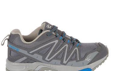 Pánské šedomodré běžecké boty Praylas