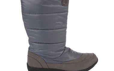 Dámské šedé zimní boty Praylas