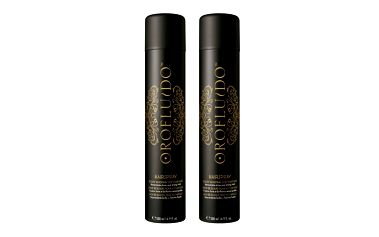 Sada vlasové kosmetiky Orofluido Orofluido Lak na vlasy 2 x 500 ml