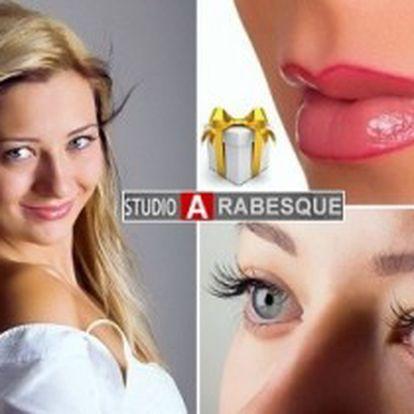 Permanentní make-up od špičky v oboru Kateřiny Rosandičové! OBOČÍ, oční LINKY i zvýrazněné RTY.