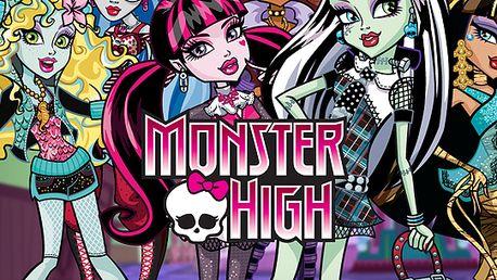 Oblíbený seriál Monster High vám přináší panenky s neuvěřitelnou slevou. Jedna panenka Monster High za pouhých 252