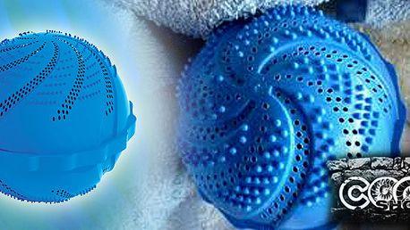 Skvělá prací koule Clean Ballz - obsahuje množství keramických kuliček, které změní povrchové napětí vody a tím můžete prát až 1000x bez prášku!