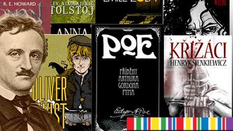 Dracula, Dorian Grey, Conan a další již od 119 Kč – 22 titulů na výběr od Knihy Dobrovský!
