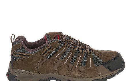 Pánská tmavě hnědá outdoorová obuv Praylas