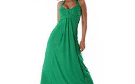 Krásné elegantní plesové šaty, díky jednoduchosti střihu jsou vhodné také jako letní šaty Queen O.F.
