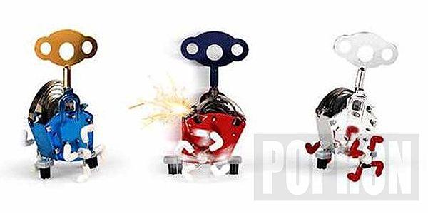 PING LING - Mechanická hračka červená