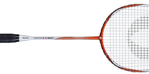 GRAFITOVÝ MODEL ZA CENU KOMPOZITU: Špičková badmintonová raketa pro turnajové hráče. Exkluzivní nabídka od firmy OLIVER