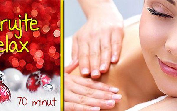 Uvolňující 70minutová relaxační speciální masáž!