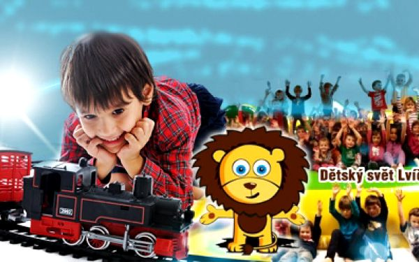 CELODENNÍ VSTUP do kouzelného dětského světa LVÍČEK PRAHA jen za 79 Kč a POZOR, navíc ZDARMA dětská vstupenka do Království železnic, největšího modelu kolejiště v ČR! Dvojitá zábava pro Vaše děti! Exkluzivní sleva 75%!