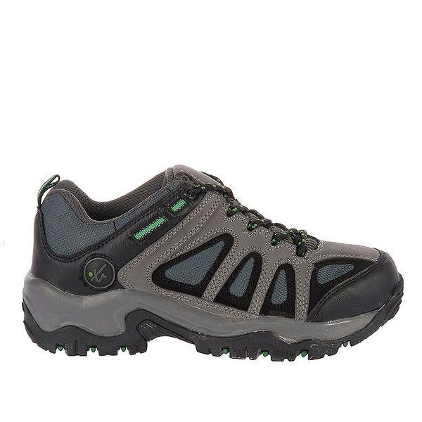 Pánská tmavě šedá outdoorová obuv Pralyas