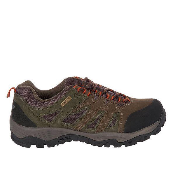 Pánské khaki šněrovací boty Praylas