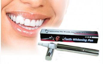 Kvalitní bělení zubů jako u zubaře za zlomek ceny! Pouhých 249 Kč za pero na bělení zubů včetně dopravy!