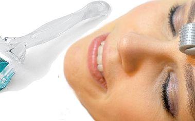 Derma roller – ruční přístroj pro omlazení pleti, k léčbě akné, pigmentace, celulitidy, strií a především vrásek! Ušetřete tisíce! Navíc aktivní krém proti vráskám!