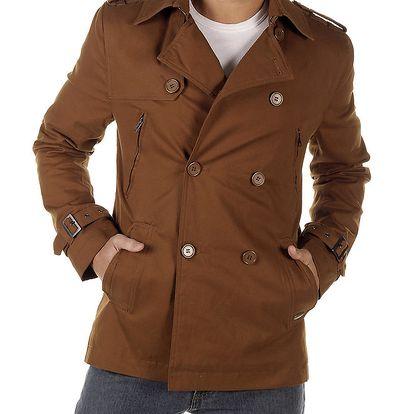 Pánský hnědý kabátek Bendorff