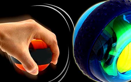Skvělá novinka pro posilování a zábavu vašich rukou, předloktí a zápěstí! Protáhněte si v práci ruce aby se Vám nezkracovali šlachy! Skvělý magnetický Wrist Ball míček!