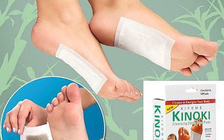 10 kusů detoxikačních náplastí na nohy a poštovné ZDARMA! - 6206797