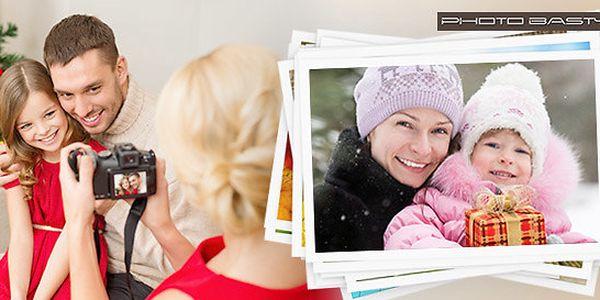 Vyvolání 50-100 fotek na prémiový papír