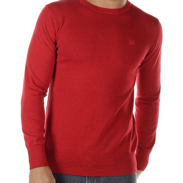 Pánský červený svetr Bendorff