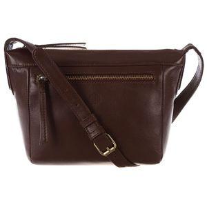 Dámská kožená taška Aurora Cognac Small Cross-Body
