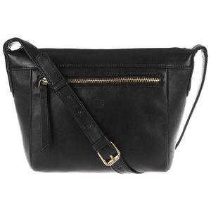 Dámská kožená taška Aurora Black Small Cross-Body