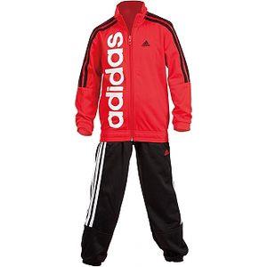 Chlapecká sportovní souprava - Adidas YB TS LIN KN CH červená