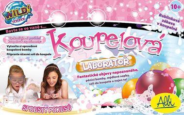 Albi Koupelová laboratoř připraví dětem voňavou bublinkovou lázeň