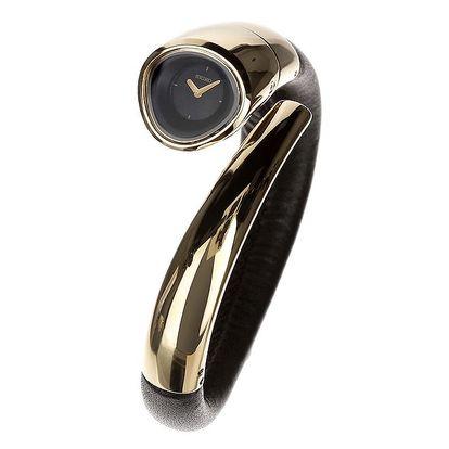 Dámské originální hodinky Seiko ve zlaté barvě