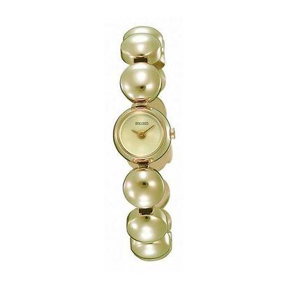 Dámské hodinky s korálkovým řemínkem Seiko