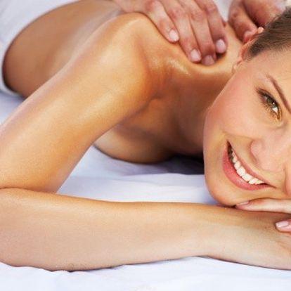 Kvalitní masáž + zábal z Mrtvého moře 229 Kč!