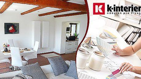 3D návrh vybrané místnosti od známé designérky