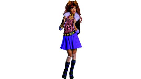 Alltoys Kostým Monster High - Clawdeen Wolf - dcera vlkodlaka