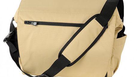 Brio Praktická prostorná taška na kočárek 2013 s přebalovací podložkou a termoobalem na lahev