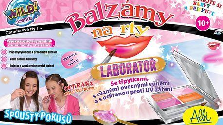 Albi Balzám na rty - laboratoř - pro výrobu vlastní kosmetiky